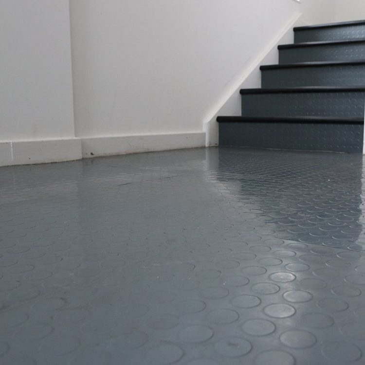Revêtement de sol carreaux de caoutchouc carreaux de sol simple