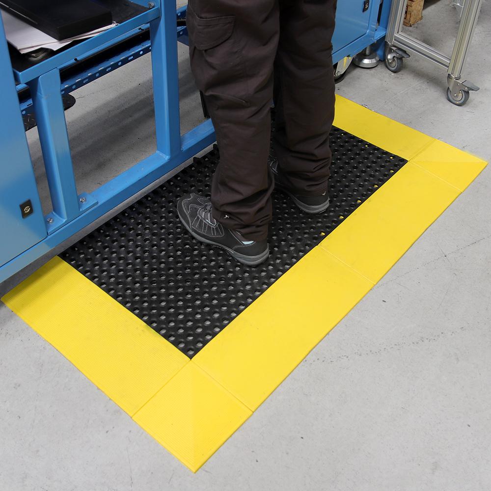 Tapis antifatigue Tapis antidérapant Tapis de travail Tough Deck