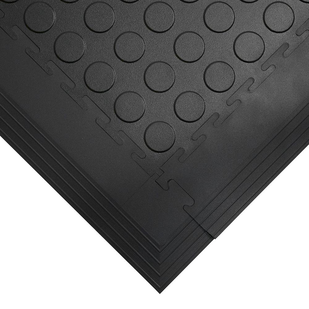Revêtement de sol industriel Revêtement de sol Carrelage recyclé Chariot élévateur adapté