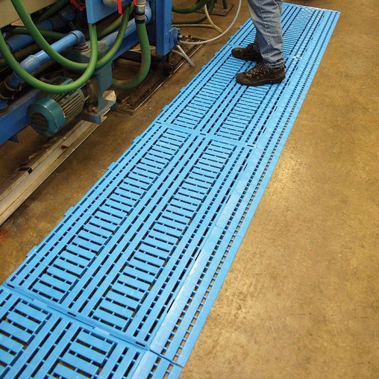 Tapis de travail Grille de sol PE Tapis de sécurité