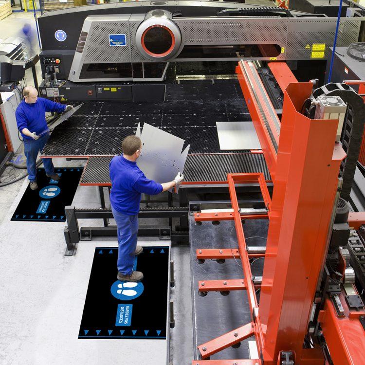 Orthomat Social DIstancing Tapis anti-fatigue tapis ergonomique tapis de travail tapis d'industrie