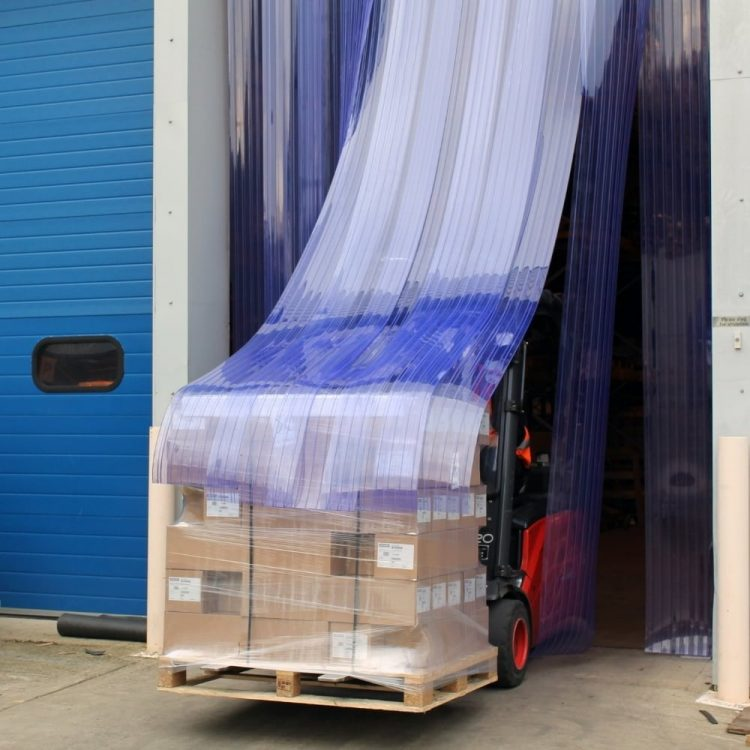 Rideaux à bandes en PVC Fabricant Industrie