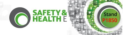 Safety and health expo stand p1850