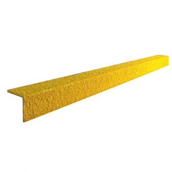 Profil noska schodowego Ochrona noska schodowego GFK Węglik krzemu Odporny na poślizg Kolor sygnału Bezpieczne schody