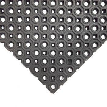 Mata gumowa pierścieniowa Wydajna, odporna na zabrudzenia mata do zastosowań zewnętrznych