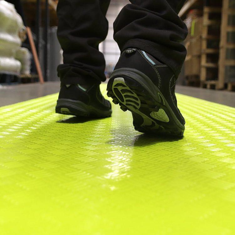 SitePath Floor Marking Wysoce widoczne chodniki budowlane tereny fabryczne tereny fabryczne