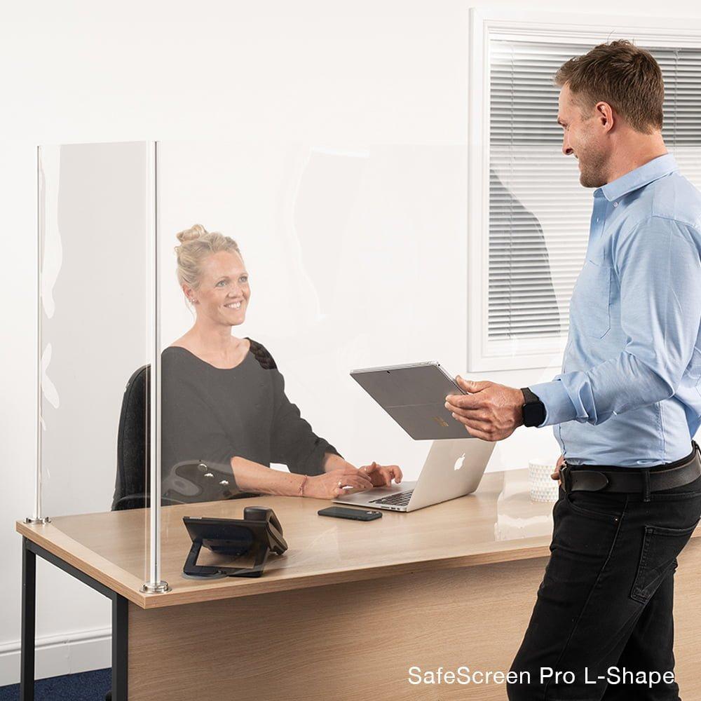 Bezpieczna ochrona ekranu przed kichnięciem licznik wyświetlacza Ochrona przed pluciem blatu biurka