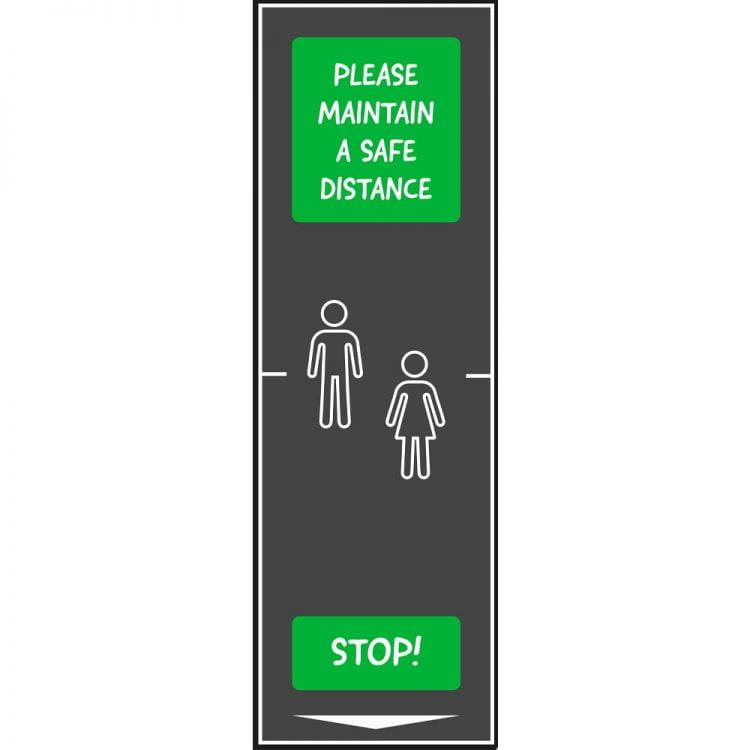 Maty bezpiecznego odstępu dla szkół