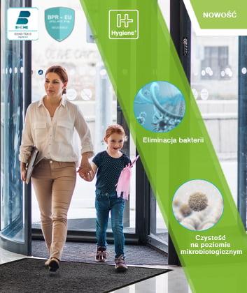 Drzwi o właściwościach antybakteryjnych Entra Clean Hygiene+ COBA Europe