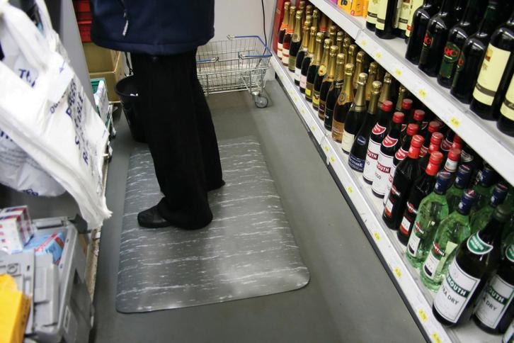 cashier mats
