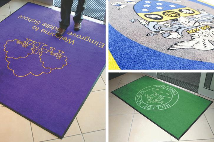 entrance mats for schools