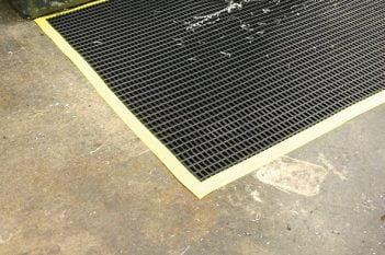 Workstation safety matting