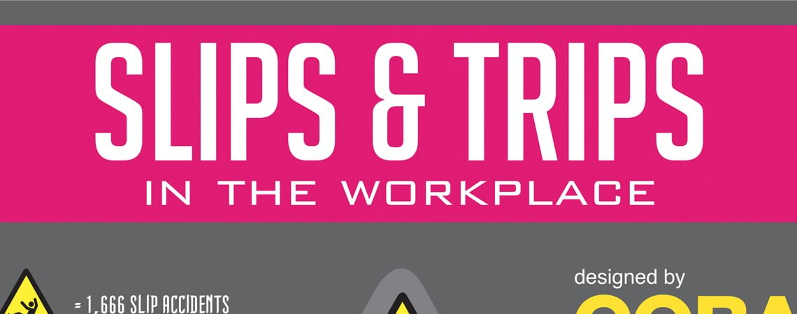 Slips and Trips in the Workplace