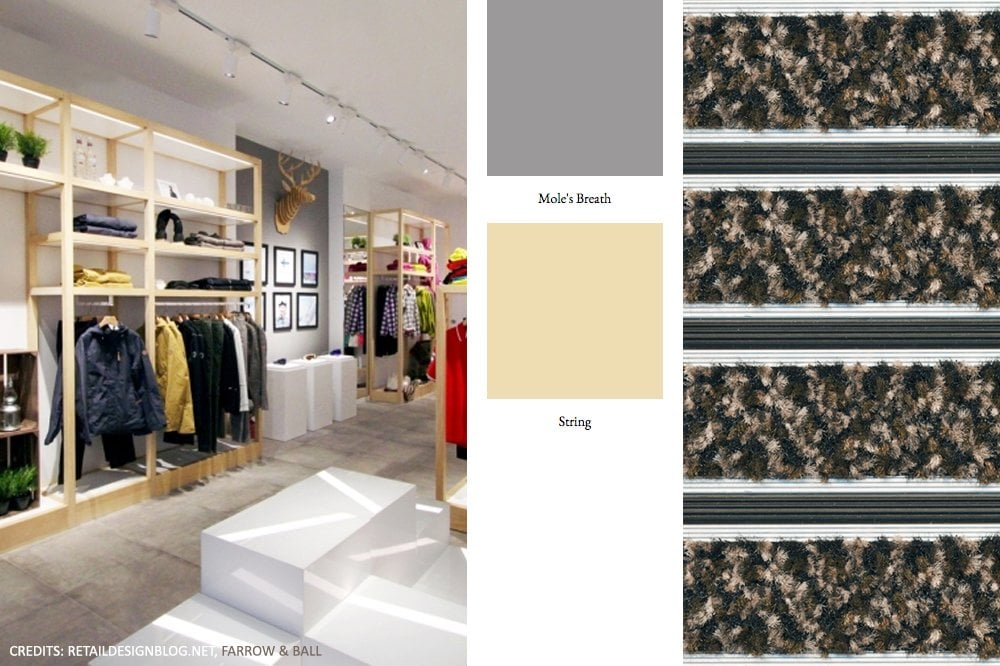 Mood Board Scandic Retail