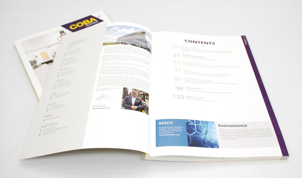 COBA Europe Catalogue