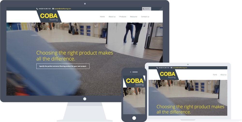 COBA Flooring Website