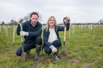 Tree Planting Chris & Tracey