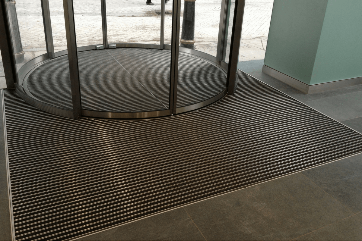 Entrance Matting for Academy House