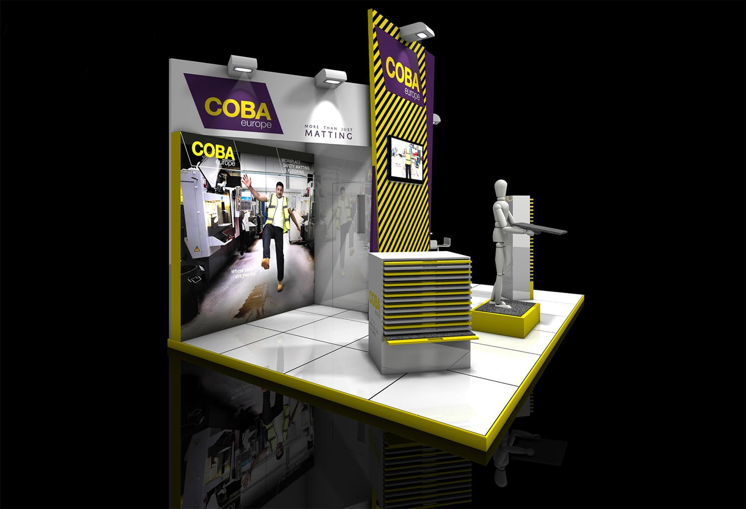 COBA Expoprotection Stand
