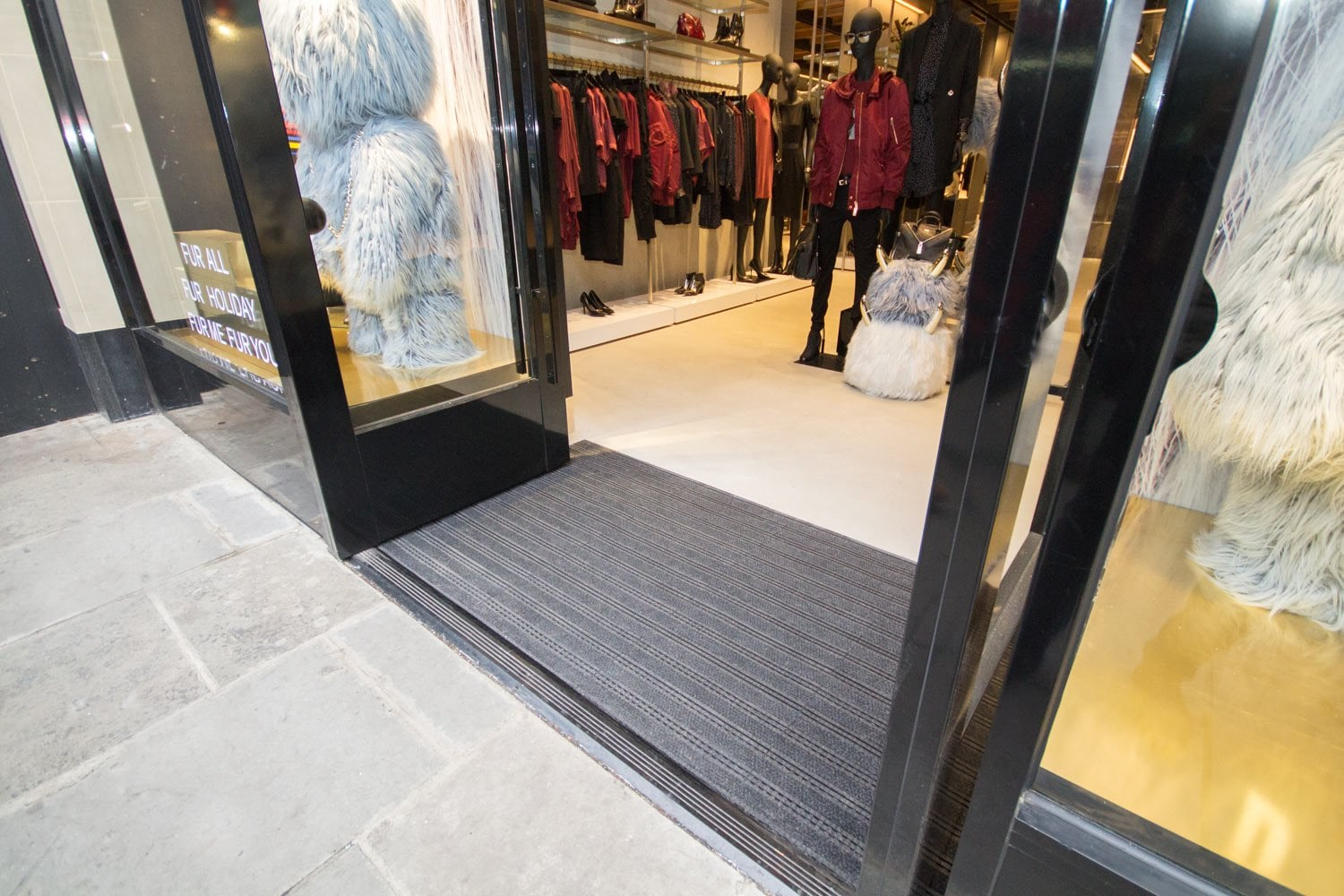 Entrance Matting Systems for Shops
