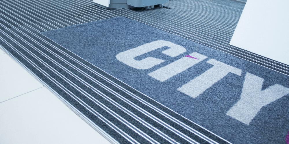 entrance mat logo