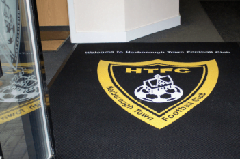 Football Club Logo Mat