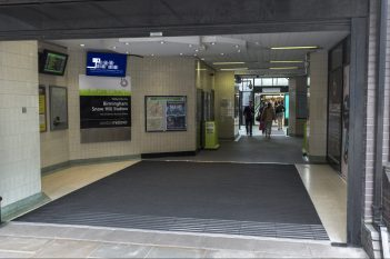 Snow Hill Train Station Entrance Matting Systems