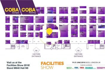 Facilities Show Floor Plan