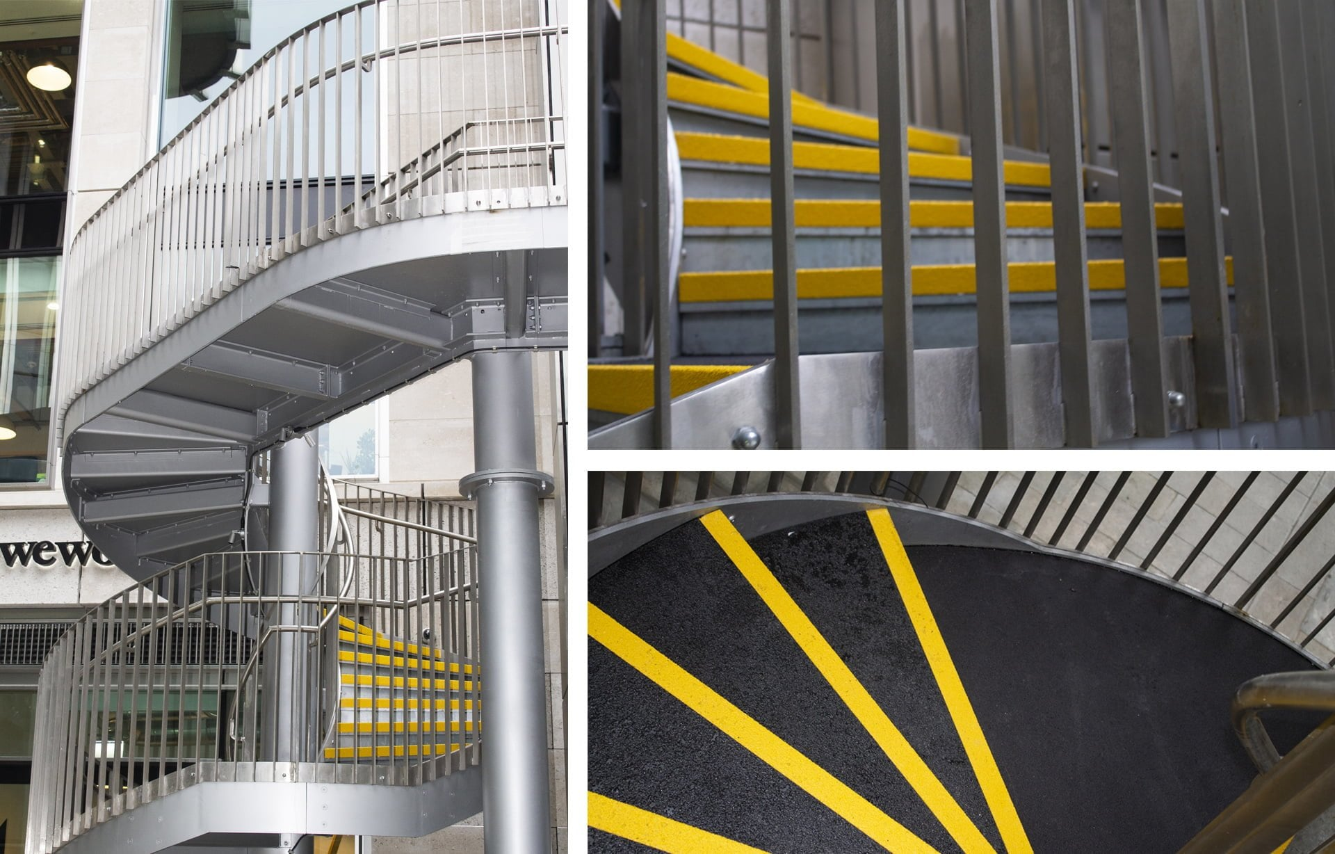 GRP Nosings & Sheets for a Spiral Staircase – Bishopsgate