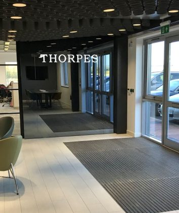 Thorpes Joinery Entrance Matting