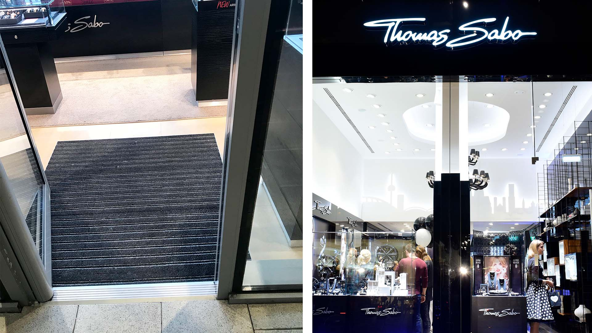 PathMaster3 Entrance Matting for Cheshire Oaks Stores