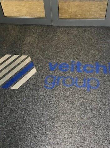 Veitchi Flooring Precision Loop Logo Mat