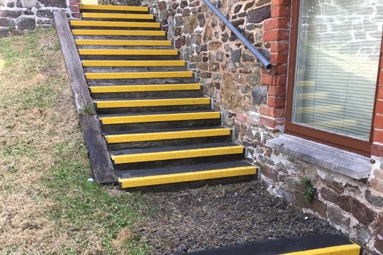 GRP Stair Treads for City Council