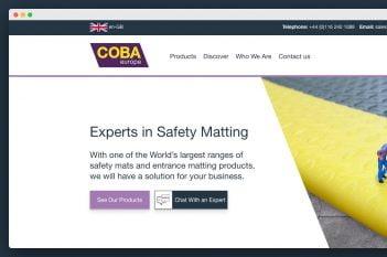 COBA Europe Homepage