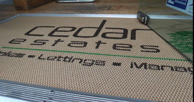 Cedar Estates logomat