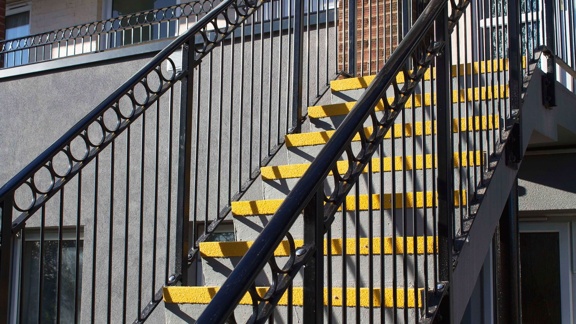 Stair Tread at Sewell Highway