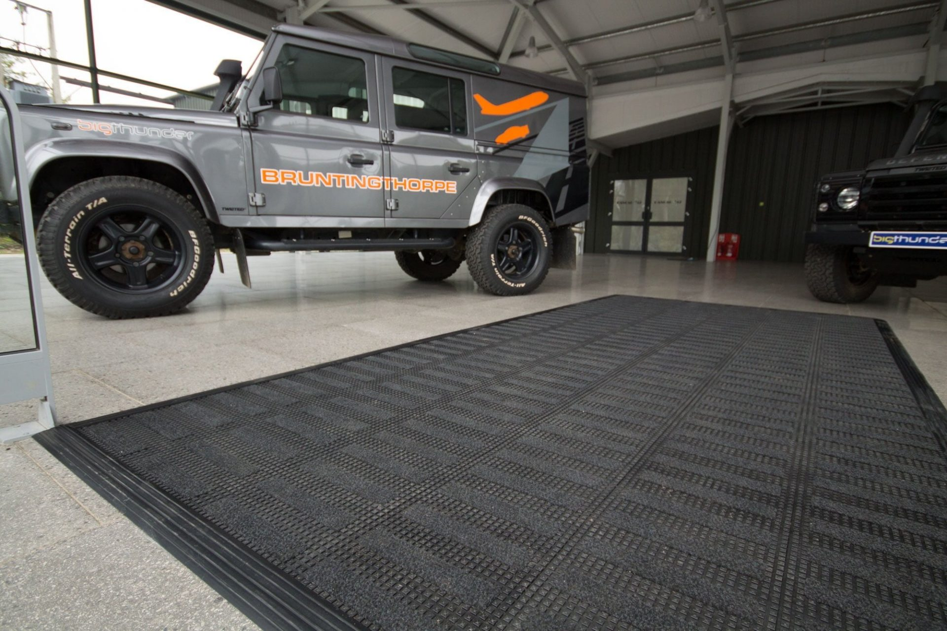 Hanger 42 Entrance Matting