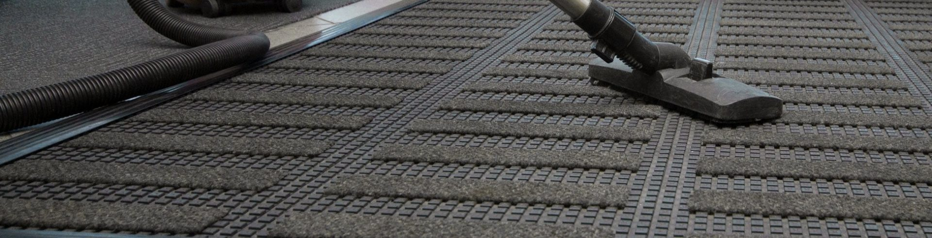 How to clean entrance matting