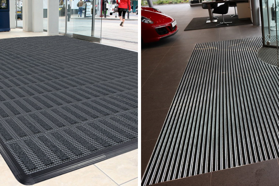 types of barrier matting