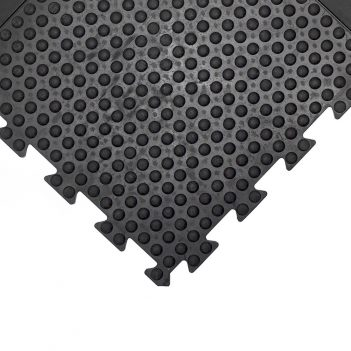 Bubblemat Connect Workplace Matting Black