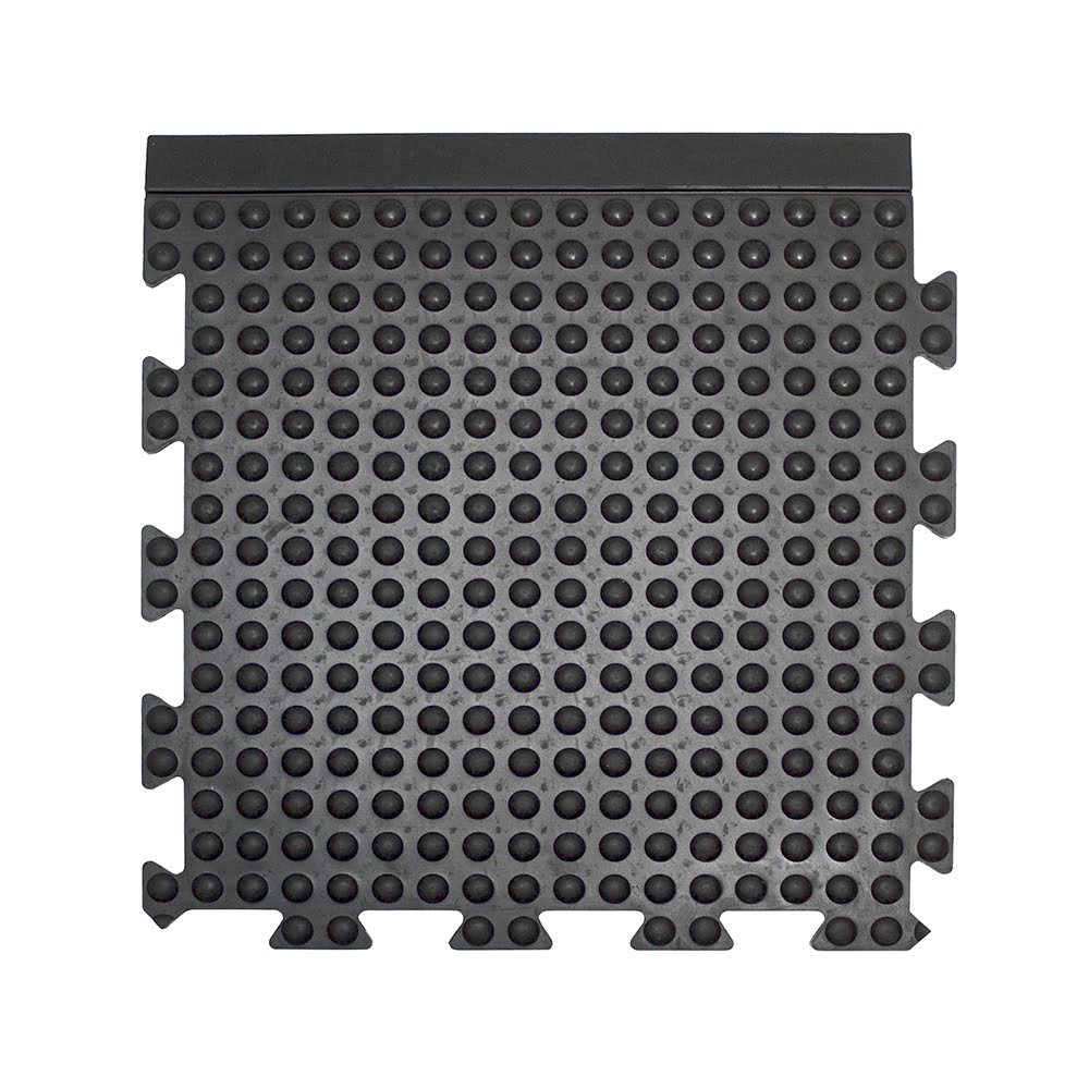 Bubblemat Connect Workplace Matting Style Black Edge