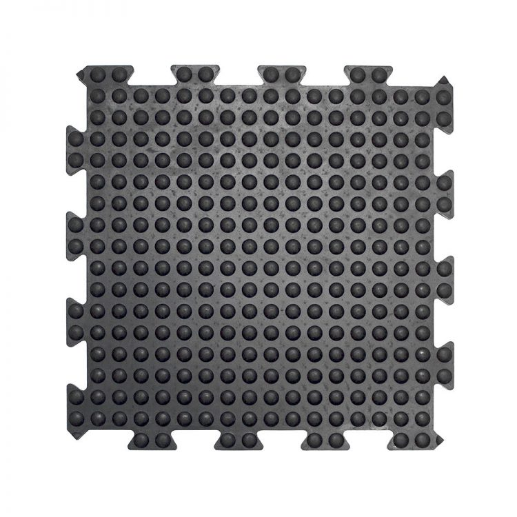 Bubblemat Connect Workplace Matting Style Black Middle