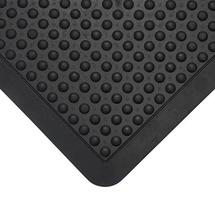 Bubblemat Workplace Matting Styles Black