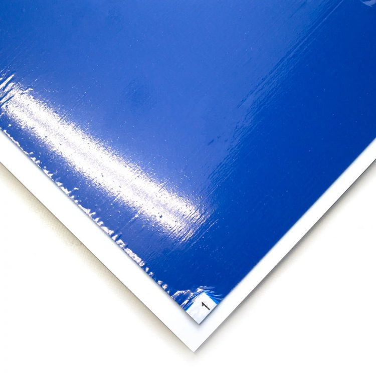 Clean Step Entrance Mat Style Blue