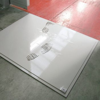 Clean Step Entrance Mat White
