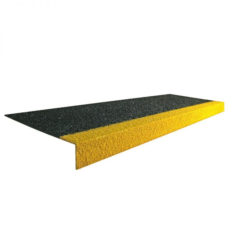 Cobagrip Stair Tread Floor Level Accessories Style Black Yellow