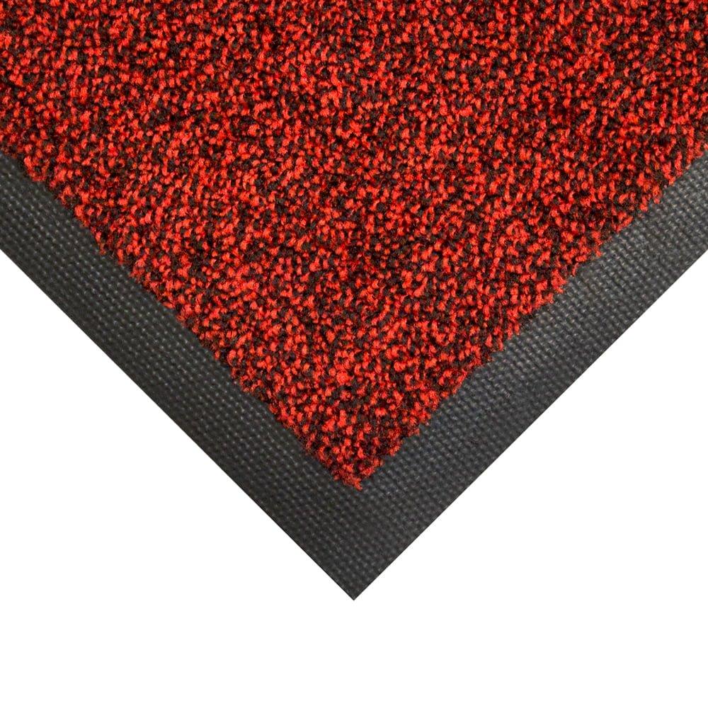 Cobawash Entrance Mat Style Black Red