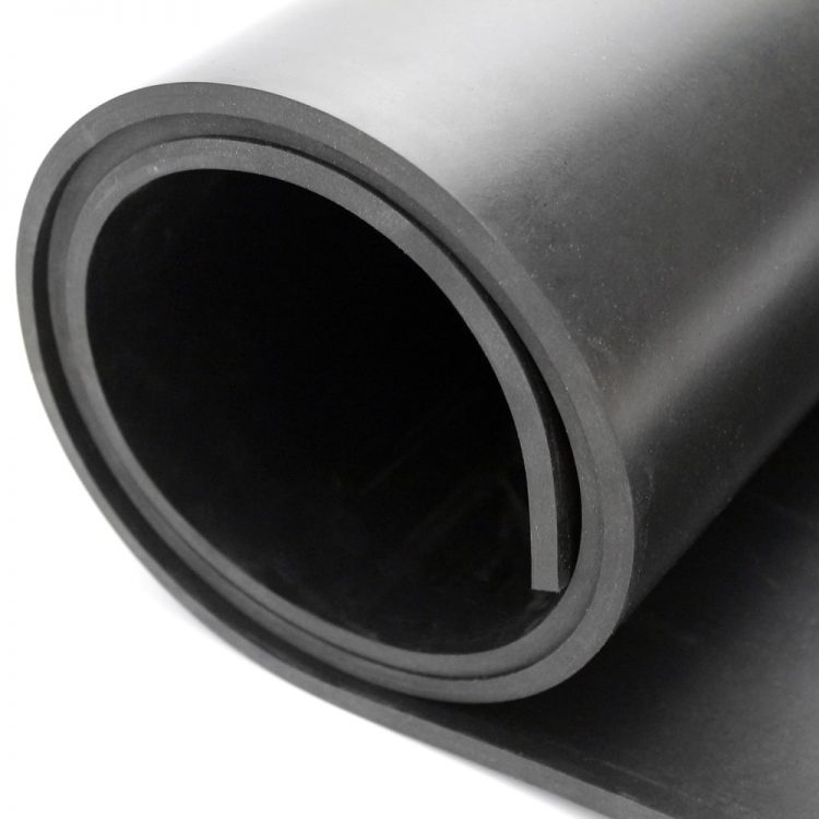 Commercial Black Rubber Sheeting