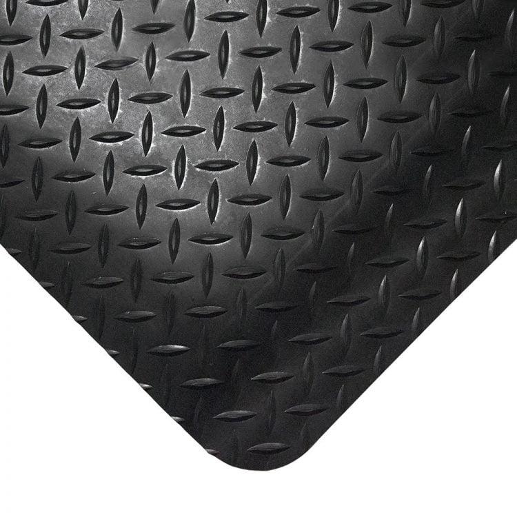 Deckplate Workplace Matting Style Black