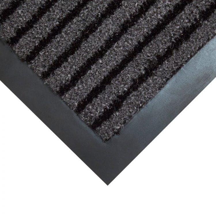 Duo Entrance Mat Black Charcoal